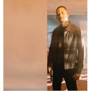 Bad Boys For Life Will Smith Brown Leather Jacket