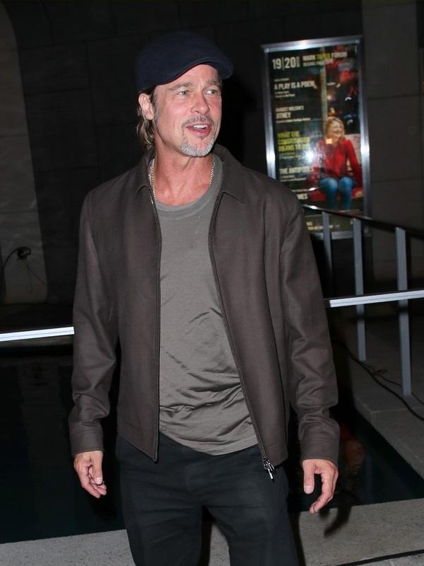 Brad Pitt Brown Jacket
