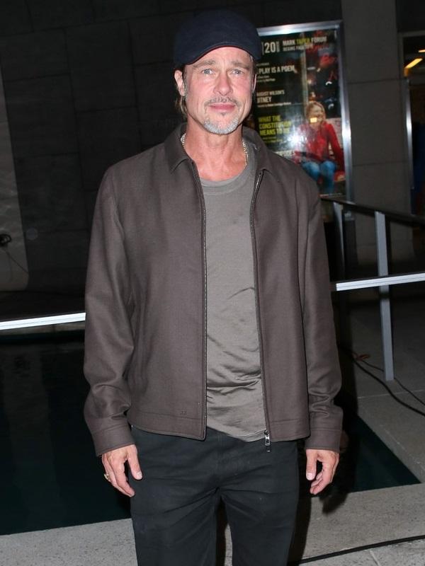 Hollywood Star Brad Pitt Jacket