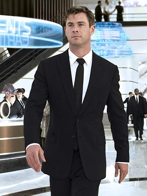 Chris Hemsworth In Men In Black International Agent H Tuxedo