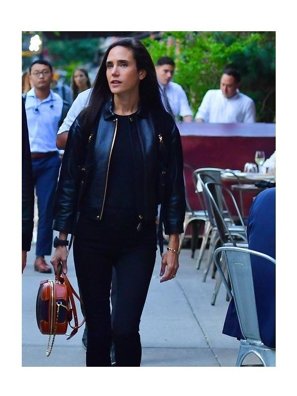 Jennifer Connelly Black Jacket