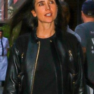 Jennifer Connelly Leather Jacket