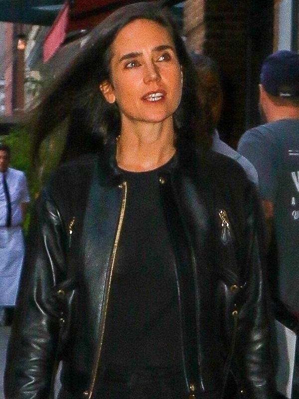 Jennifer Connelly Leather Jacket