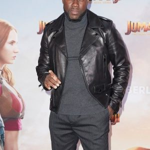 Jumanji Premier Kevin Hart's Leather Jacket