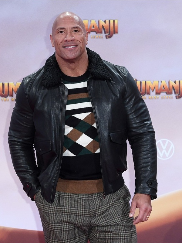 Jumanji Premiere Dwayne Johnson Jacket