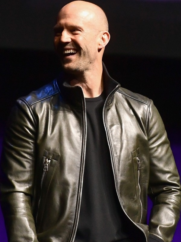 Movie Hobbs & Shaw Jason Statham Leather Jacket