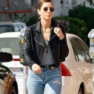 American Actress Jessica Biel Jacket