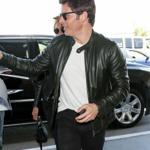 James Marsden Black Leather Jacket