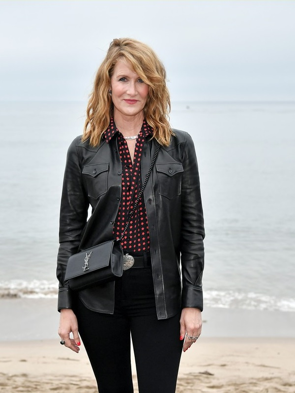 Laura Dern Don Black Leather Jacket