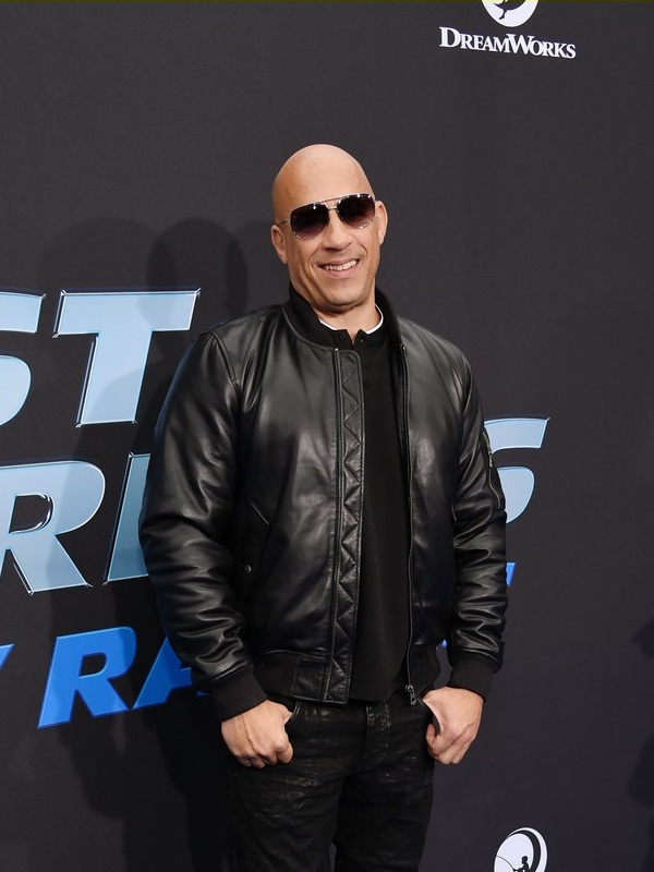 Movie Fast Furious Spy Racers Vin Diesel Leather Jacket