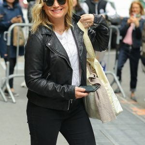Amy Poehler Leather Jacket
