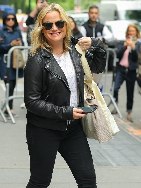 Amy Poehler Leather Jacket