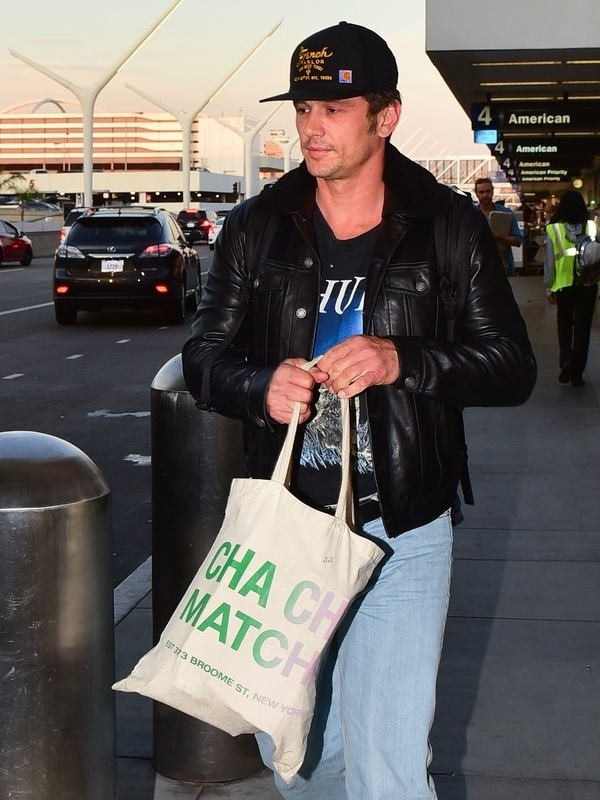 James Franco Black Jacket
