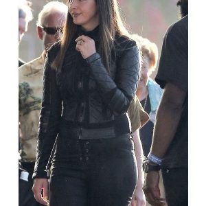 Lana Del Black Leather Jacket