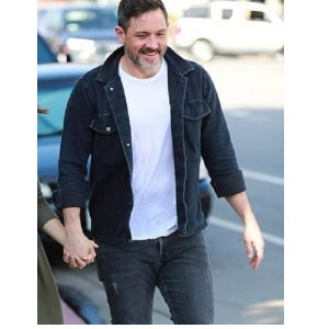 American Actor Steve Kazee Denim Jacket