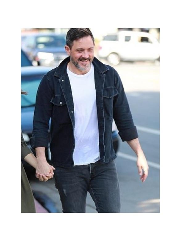 American Actor Steve Kazee Denim Jacket