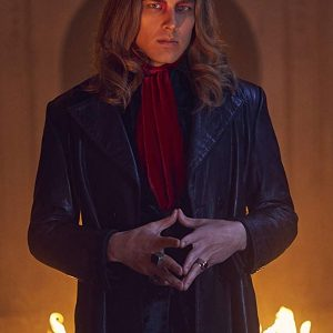 American Horror Story S09 Michael Langdon Leather Coat