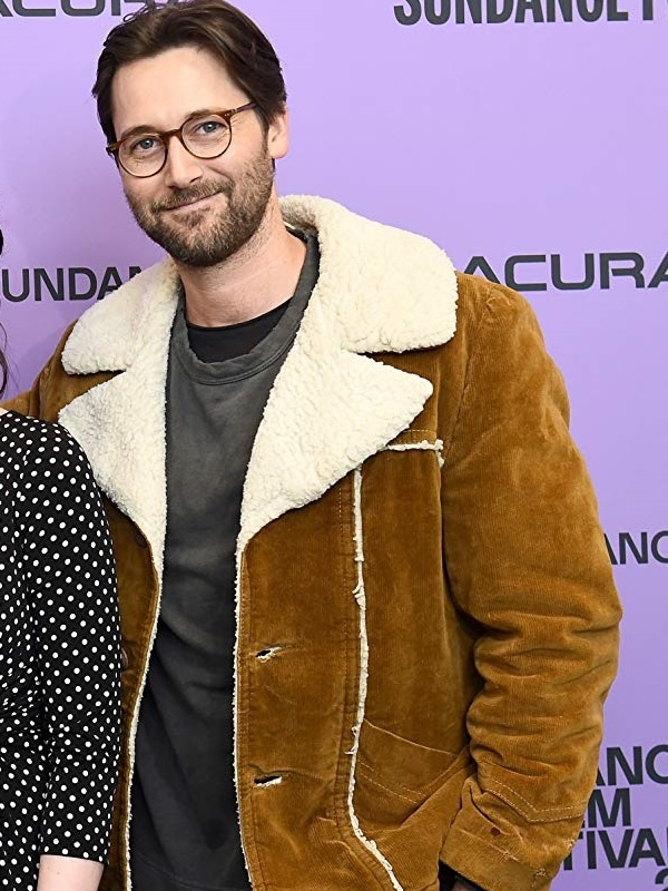 Drama Never Rarely Sometimes Always Ryan Eggold Suede Jacket