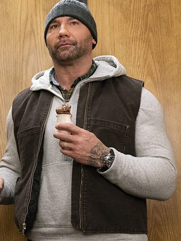 Movie My Spy Dave Bautista Cotton Vest