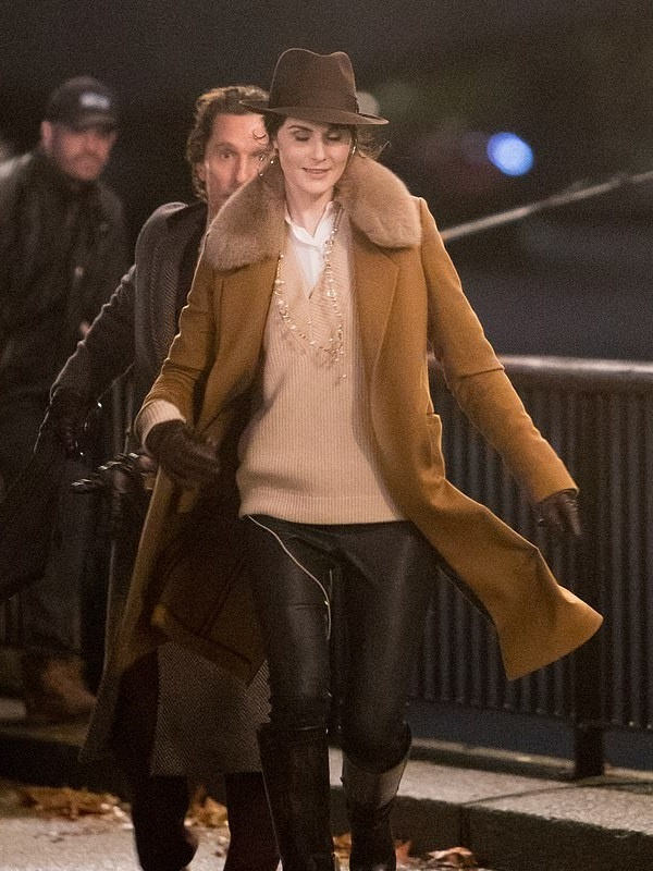 Movie The Gentlemen Michelle Dockery Coat