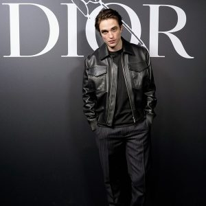 Robert Pattinson Leather Jacket