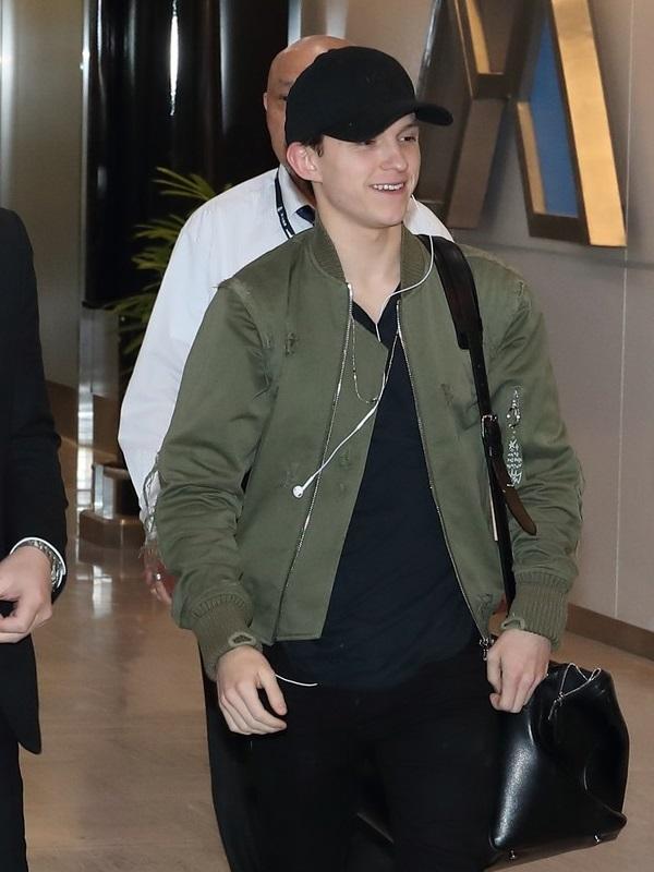 Tom Holland Avengers Star Jacket