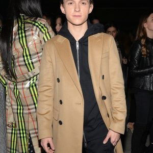 Tom Holland Long Trench Coat